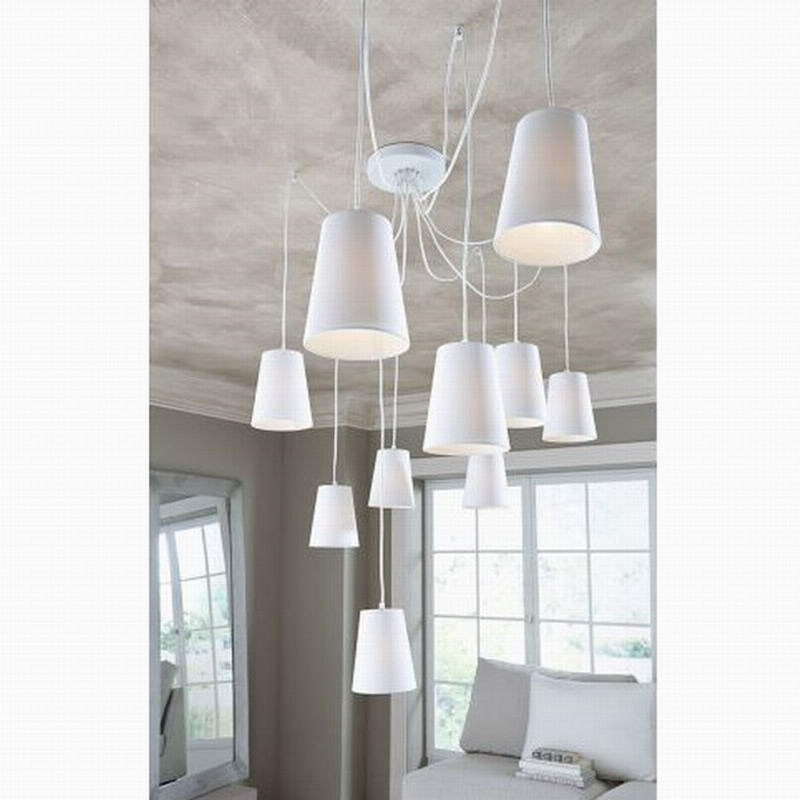 Modern Fashion large spider braided chandeliers/DIY 10 heads Clusters of Hanging white black fabric shades ceiling lamp lighting modern fashion large spider braided chandeliers white black fabric shades diy 10 heads clusters of hanging ceiling lamp lighting