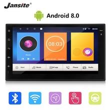 Jansite 7 «2din автомобиля радио Android 8,0 gps навигации wi fi цифровой монитор HD мультимедиа сенсорного экрана плеер с заднего вида камера