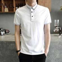 2017 New Brand Summer Fashion Short Sleeve Men's Cotton Polo Shirt For Men Clothing Tops Casual Polo Shirts Jerseys Polo Men 3XL