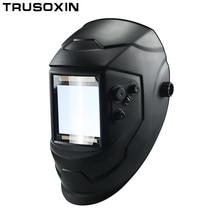 цена на Big View Eara 4 Arc Sensor DIN5-DIN13 Solar Auto Darkening TIG MIG MMA Welding Mask/Helmet/Welder Cap/Lens/Face mask/Goggles
