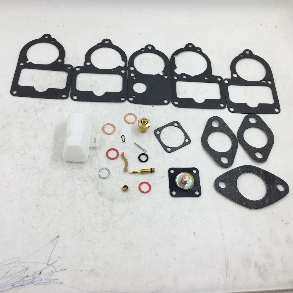 sherryberg repair gasket kit fit h30 31pict solex carburetor vw beetle carb kit with float [ 1000 x 1000 Pixel ]