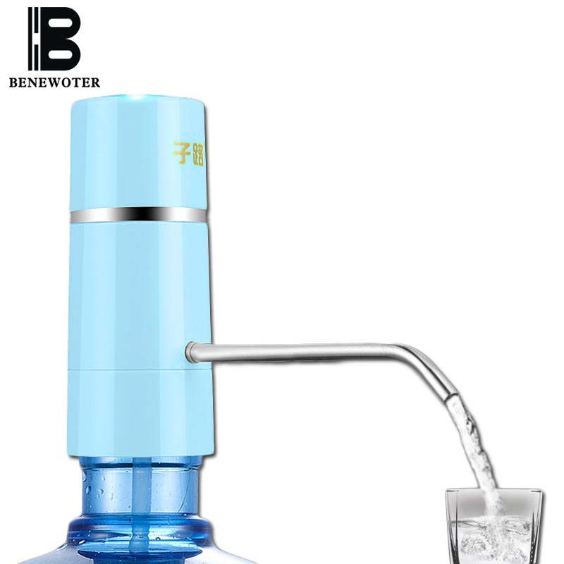 Easy pump water tap faucet wireless electric rechargeable for Is bathroom tap water drinking water