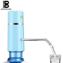 Einfache Pumpe Wasserhahn Wasserhahn Drahtlose Elektrische Wiederaufladbare Wasserspender Batterie Trinkwasser Flaschen Küche Trinkwerkzeug