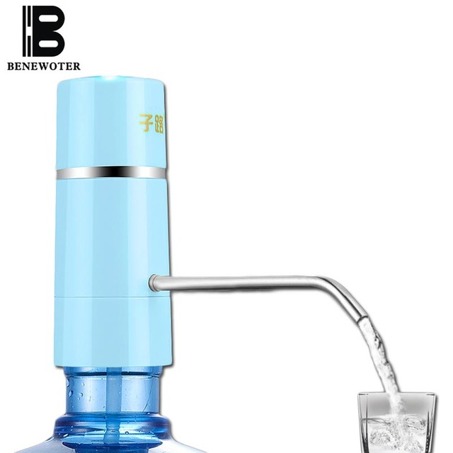 Easy Pump Water Tap Faucet Wireless Electric Rechargeable Water