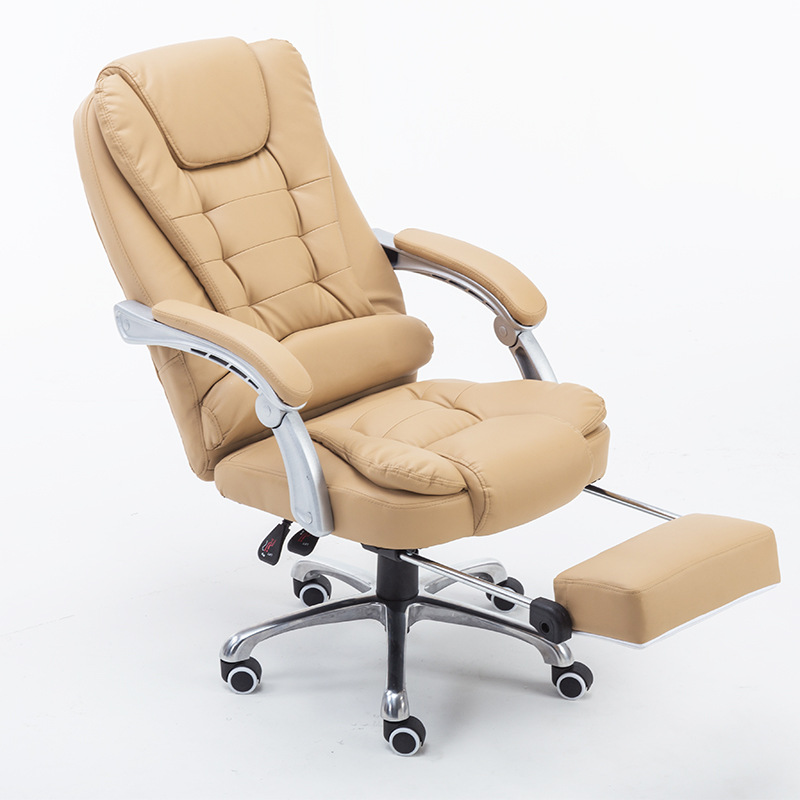 Office Chair PU Leather Reclining Office Gaming Chair Silla Oficina Home Swivel Lifting Computer Chaise Silla Gamer