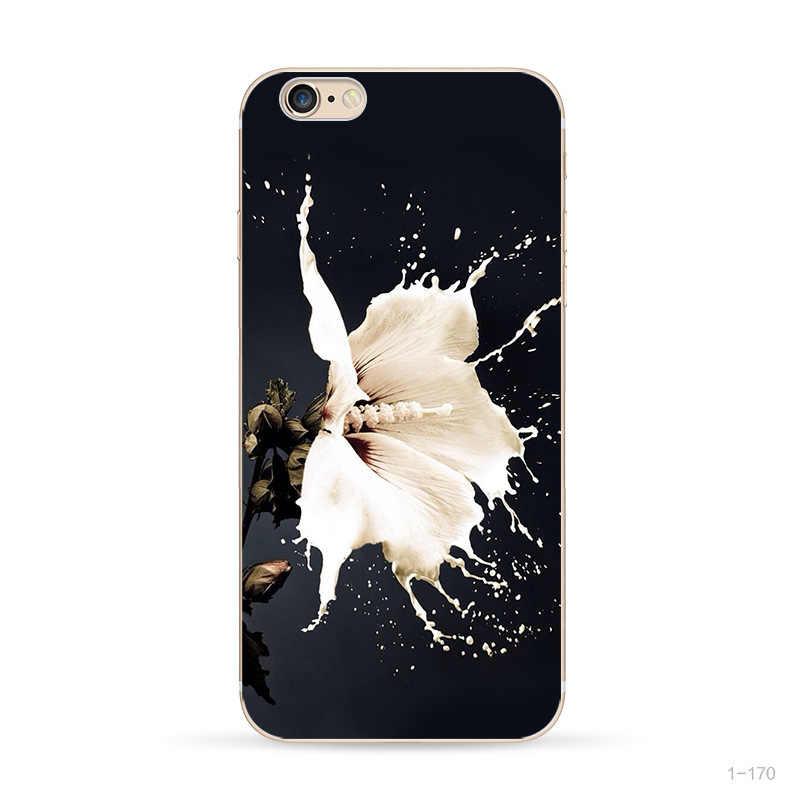 Funda de silicona blanda para iphone 7 funda para iphone 6 S para iphone 5 5S SE 6 6 S 7 8 Plus X XS de lujo para mujeres