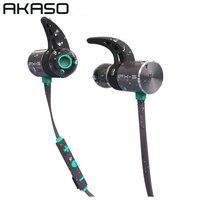AKASO IPX 5 Sport Wireless In Ear Headphone Bluetooth Running Waterproof Earbuds Headset Earphones Microphone For