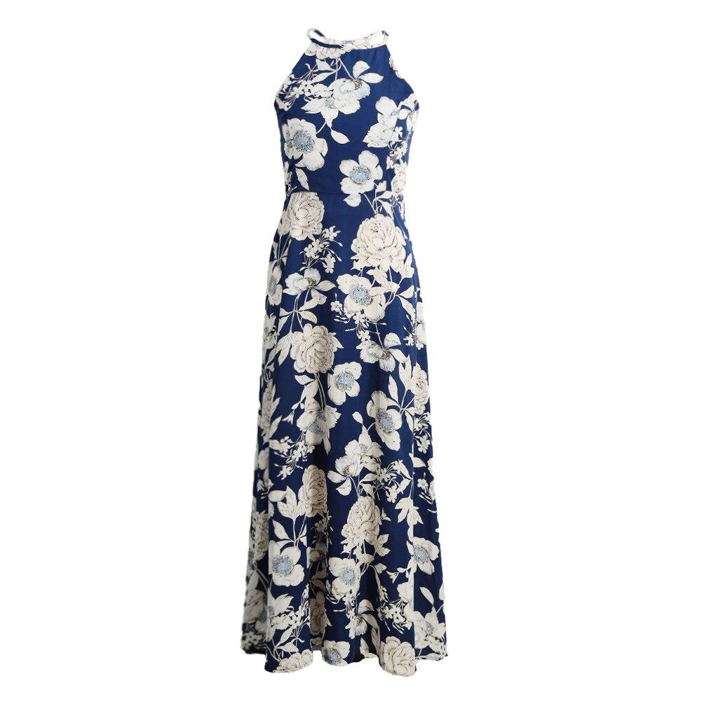 Boho Floral Vintage Long Dress 16