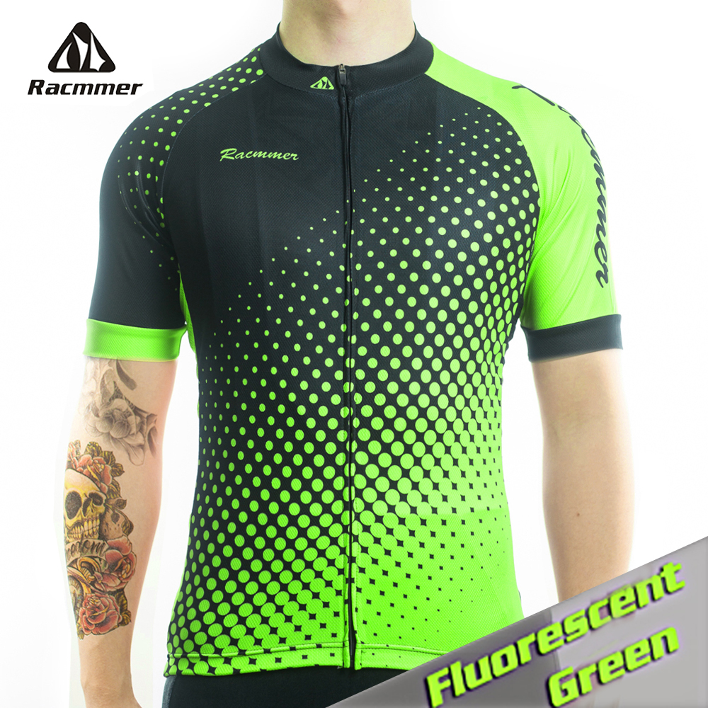 Racmmer 2018 Atmungs Radtrikot Sommer Mtb Fahrradbekleidung Fahrrad Short Maillot Ciclismo Sportwear Bike Kleidung # DX-71