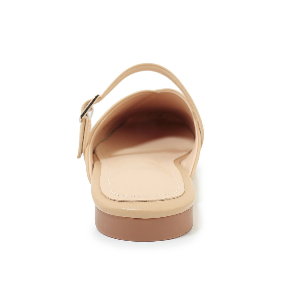 2019 summer women 39 s slippers fashion square toe comfortable flat shoes handmade women 39 s slippers in Slippers from Shoes