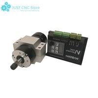 Motor controller CNC kit 1 pcs Brushless motor driver 400W 1 pcs Brushless spindle motor 48VDC ER8 2 pcs Aluminum motor block