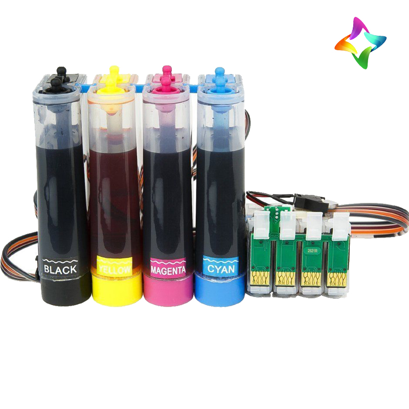 4 x 100ml bottle of ink 1 each of Bk.C.M and Y CISS Continuous Ink System fits Epson WF2650DWF WF2660DWF Printer + INK REFILL design and evaluation of microemulsion gel system of nadifloxacin