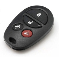 New Keyless Entry 4 Button Remote Car Key Fob For Toyota Sienna 2004 2013 Including Batteries