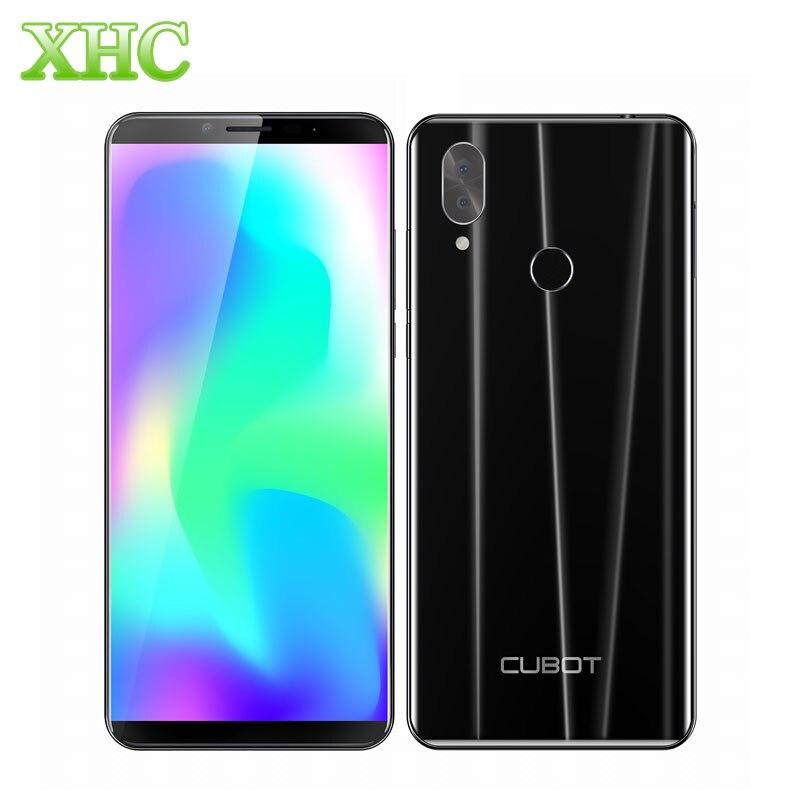 Cubot X19 Android 8.1 Smartphone Helio P23 Octa Core RAM 4GB ROM 64GB Fingerprint 5.93inch Dual SIM 16MP 8MP 4G LTE Mobile Phone