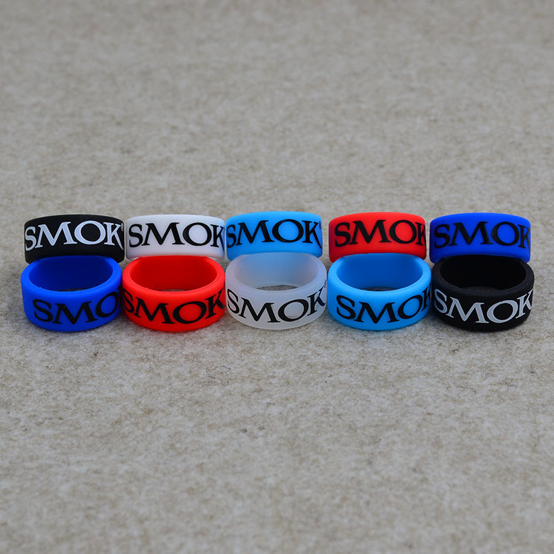 200pcs silicone rubber vape band ring for electronic cigarette atomizer and mechanical mods No Slip with