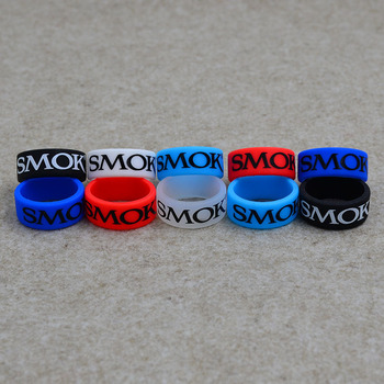 200pcs silicone rubber vape band ring for electronic cigarette atomizer and mechanical mods No Slip with vape rubber vapeband