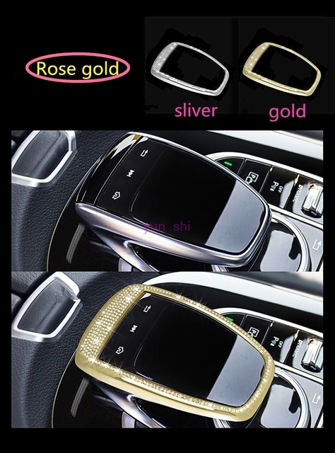 Angelguoguo Car Control The Mouse Touchpad Frame Cover Sticker For Mercedes Benz New C E S Cl Glc Gle Cls Series