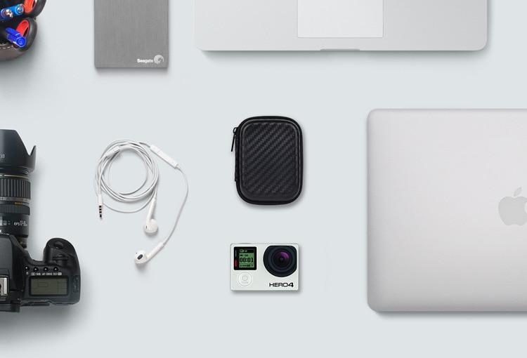 მიკრო კამერა USB ფლეშ Carry bag Case - შემნახველი წყაროები - ფოტო 4