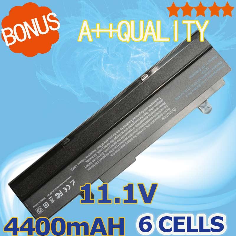 ShenZhen Nine King Co.,Ltd 4400mAh Black Laptop battery For Asus Eee PC VX6 1011 1015 1015P 1015PE 1016 1215N 1215B A31-1015  A32-1015 AL31-1015 PL32-1015
