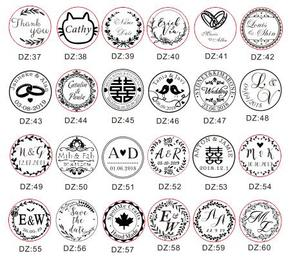 Image 2 - Design Your Own Embosser Stamp / Custom Embosser Seal for Personalized / Wedding Seal