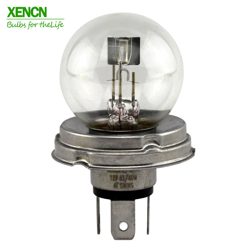 XENCN R2 G40 P45t 12V 45/40W 3200K Clear Series Car Head Light Halogen Bulb Brand Auto Lamps Long Lifetime Free Shipping 2pcs