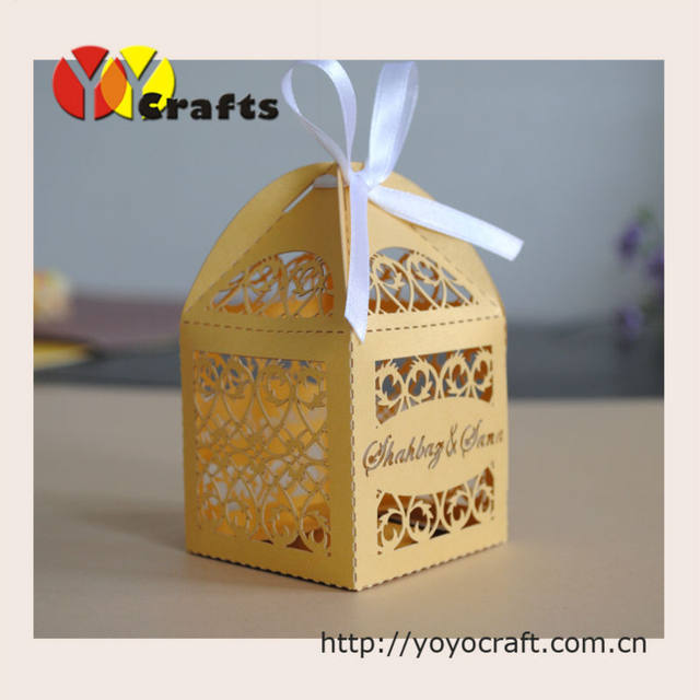 Online Shop 100pcs best sell wedding favor cake box party even ...