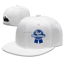 0db065ff54f Pabst Blue Ribbon SnapbackCap Hat Black Unisexe Men Women Cap Sports Cap  Outdoors Cap Hip-