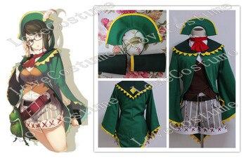 Disfraz de Kanban Green girl de Monster Hunter 4 hecho a medida