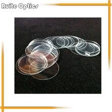 1 Box 100pcs 15mm Round Microscope Glass Slide Cover Slips Blank Slides Coverslip Thickness 0.13 - 0.17mm