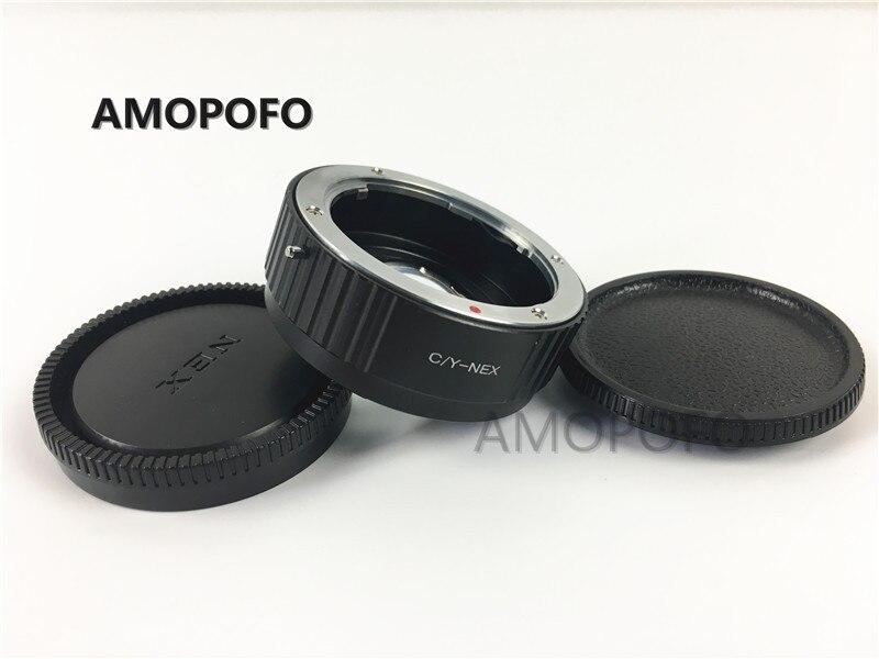 CY-NEX Focal Reducer Speed Booster Adapter for Contax Yash mount Lens to for Sony NEX E NEX-F3 NEX-7 NEX-5N NEX-C3 NEX-3 meida universal speedlight to hot shoe adapter for sony nex 3 nex 3c more silver page 10