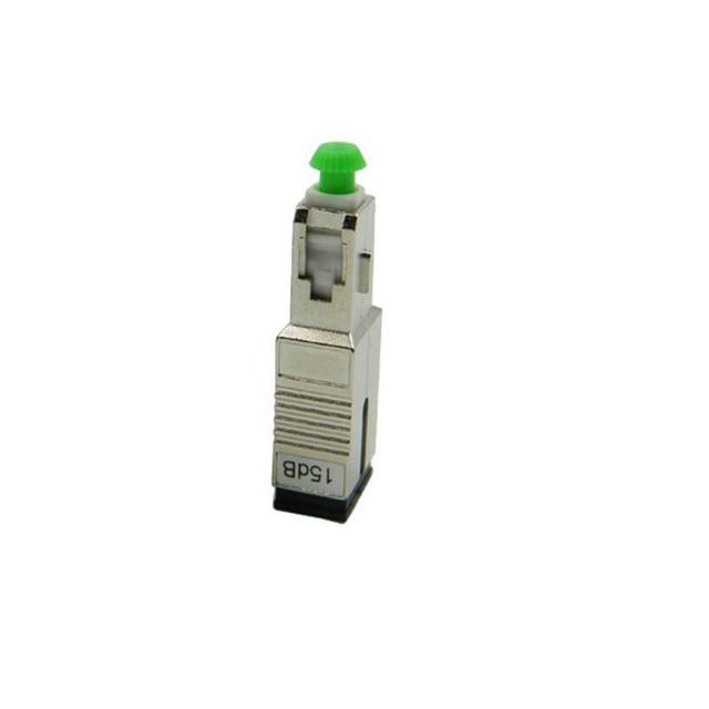 גבוהה באיכות 5 יח\שקית SC APC נקבה לזכר 15dB סיבים אופטי מתאם SC AP 15dB סיבים אופטי מחליש משלוח חינם