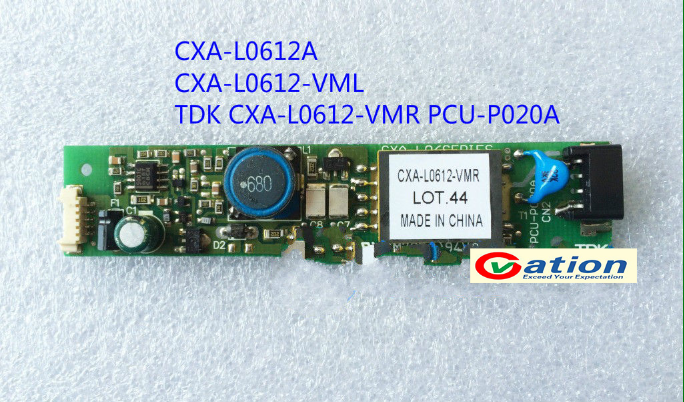 1PCS NEW Inverter  CXA-L0612-VML /CXA-L0612A / CXA-L0612-VMR PCU-P020A cxa 0247 pcu p052d tdk lcd inverter high voltage switchboard