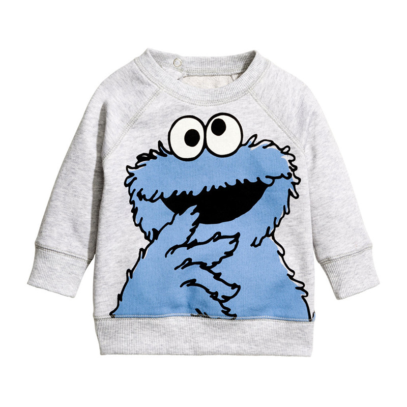 Oklady Children Brand Clothing Autumn Spring Boys Clothes Cotton Long Sleeve O neck Lovely Character T