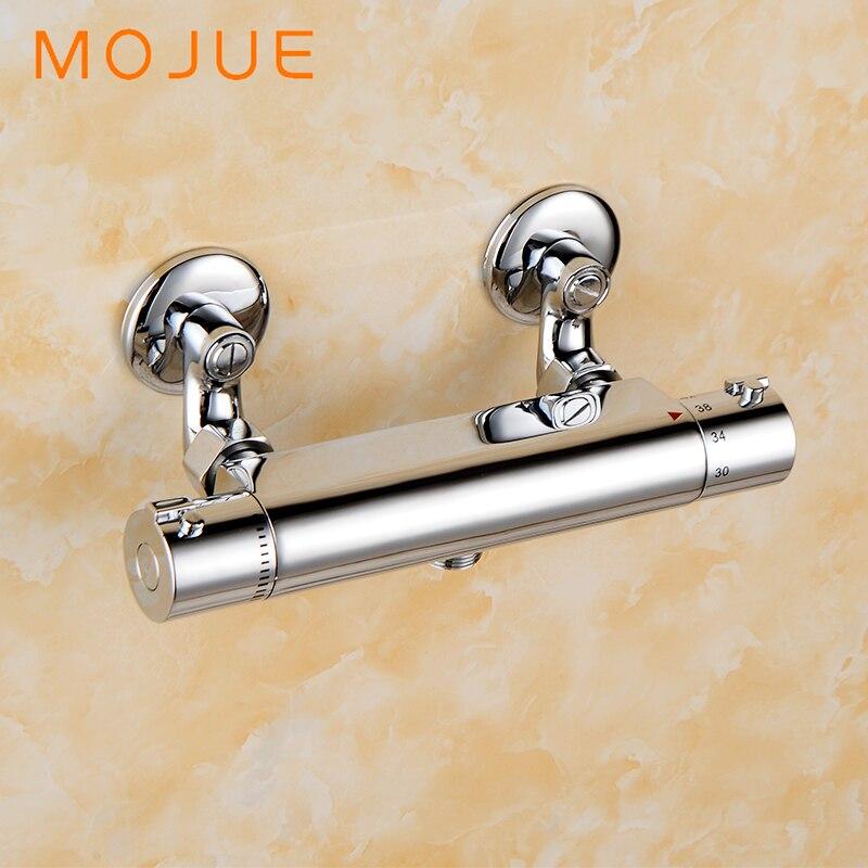 Здесь продается  MOJUE thermostatic shower faucets mixer tap wall mounted bathroom shower valve torneira do banheiro MJ8245  Строительство и Недвижимость