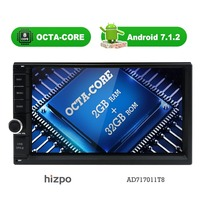 Octa Quad Core Android7 1 2G RAM 32GB 16G ROM Support 4G WIFI Network Car GPS