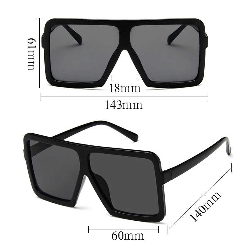 Personality Large Hop Frame Newest 2018 Rap Box Sunglasses Super Style Men Glasses Women Hip Popular With vmN8On0w