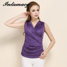 Vest, Bottoming Silk T-shirt,