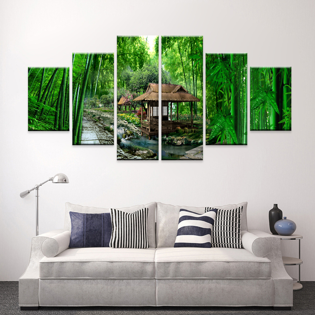 bedroom living room home decor oil painting multi panel canvas wall
