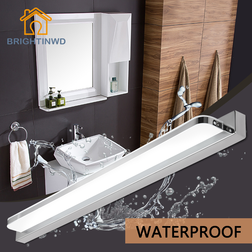 Bathroom Mirror Wall Lights Us 12 59 73 Off Modern Led Mirror Wall Lamp Bathroom Light Wall Mounted Lampada 3w 9w 12w 14w 16w Led Mirror Light Brightinwd In Led Indoor Wall