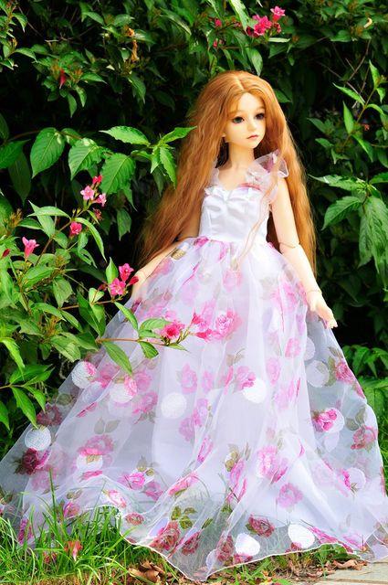 BJD SD 1/3 Листья Рори Куклы Платье Одежда Юбка Подарок Оптовая модели Не Включает В Себя Модели 55-63 см BJD детские Полный платье