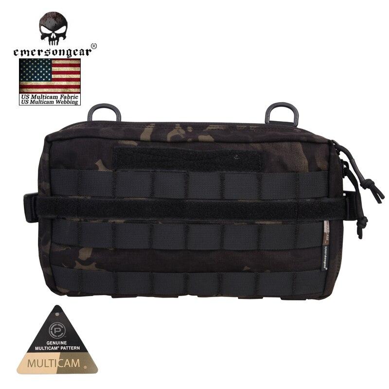 Emersongear multi-fonctionnel 1000D Molle Edc équipement utilitaire taille poche sac tactique Packs survie Camping équipement EM8347