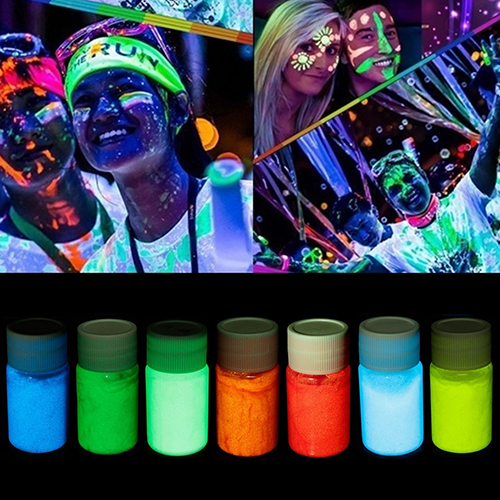 20ML UV Glow Face Body Luminous Paint Fluorescent 1