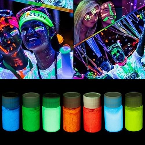20ML UV Glow Face Body Luminous Paint Fluorescent 1