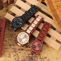Reloj de pulso en madera completo colores 5