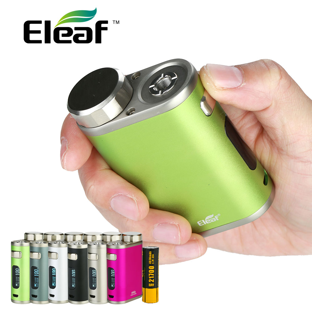 Original E Cigarettes Eleaf iStick Pico 21700 Box MOD 4000mah Battery 100W istick Pico Vape Also