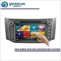 YESSUN для Nissan Sylphy/Pulsar/Sentra 2012 ~ 2014 автомобиль радио CD DVD плеер усилители домашние HD ТВ экран gps навигации Аудио Видео