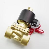 Water Air Gas Fuel NO Model Normal Open Solenoid Valve 1/2 BSPP 12/24/110/220V