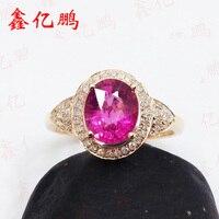 18 K Jin Tianran Tourmaline Ring Female 1 5 Carats
