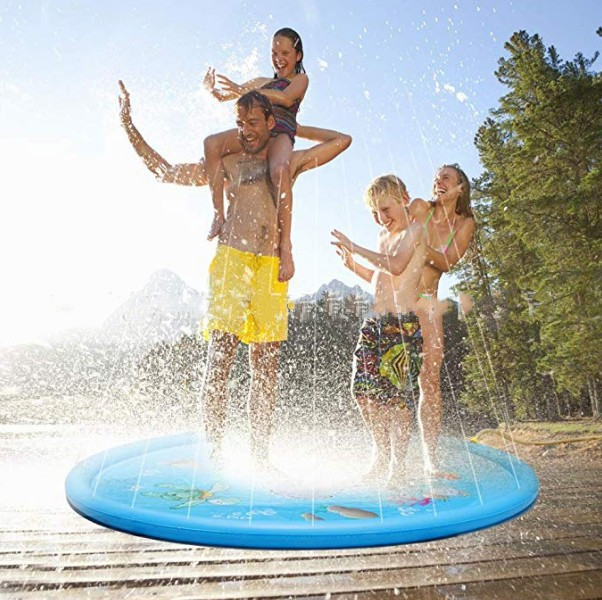 Summer Baby Kids Water Mat Irnfant Children Water Beach Spraying Cushion Outdoor Tub Swiming Pool Play Water Supplies For Babies