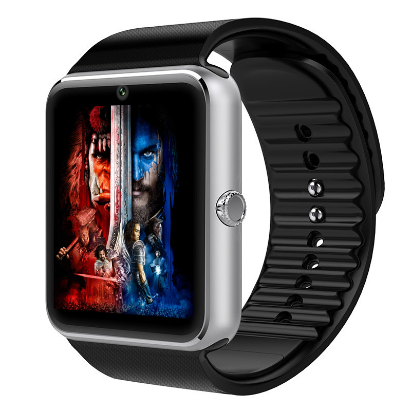 Smart Watch GT08 Clock Sync Notifier Support Sim Card Bluetooth Connectivity for iphone Android Phone Smartwatch